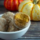 Pumpkin Pie Bombs in 5 ingredients and 10 minutes; 15 carbs per serving of 2. The perfect pumpkin season guilt free treat that is Keto, Paleo, Vegan and Sugar Free.? thegestationaldiabetic.com