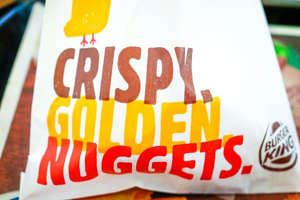 Burger King Nugget Packaging