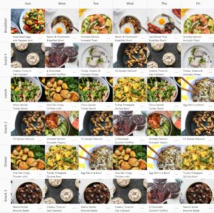 6-day gestational diabetes meal plan